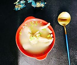 黄豆鸡脚汤的做法
