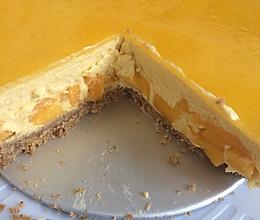 芒果慕斯蛋糕(8寸)的做法
