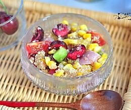 藜麦火腿水果沙拉的做法