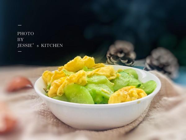 小白必学快手菜——黄瓜炒蛋的做法
