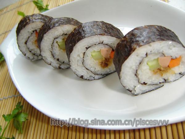 自制简易寿司的做法