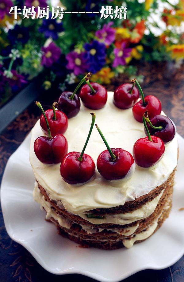 欧式裸蛋糕的做法