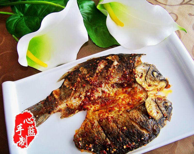 心蓝手制私房菜【孜然辣烤鱼】——吃的就是一口江湖豪气
