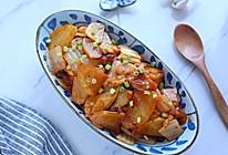 辣白菜炒土豆的做法