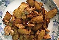 鸡肉与土豆的美味碰撞~干锅鸡肉薯角的做法