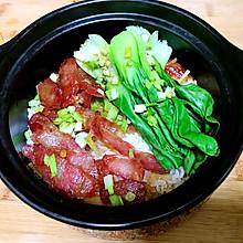 广式香肠煲仔饭