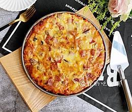 #肉食者联盟#培根蘑菇披萨的做法