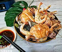 #晒出你的团圆大餐#鲜到掉眉毛的海鲜&海鲜粥的做法
