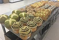 花式甜面包的做法