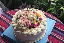 水果韩式裱花蛋糕#相约Mof#的做法