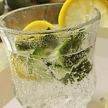 柠檬黄瓜苏打水
