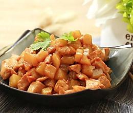 土豆炒鸡胸肉——迷迭香的做法