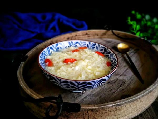 酒酿蛋花汤的做法