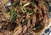椒盐皮皮虾(虾菇 攋尿虾)和海鲜排挡里做的一样的做法