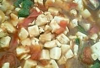 西红柿炒豆腐,多汁秘籍的做法