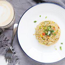 10分钟快手早餐 | 杂蔬酱油蛋炒饭