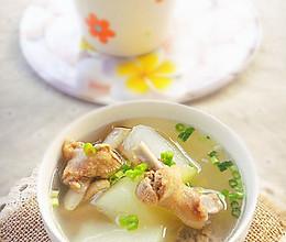 冬瓜鸭肉汤的做法