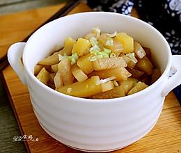 白萝卜炖土豆的做法