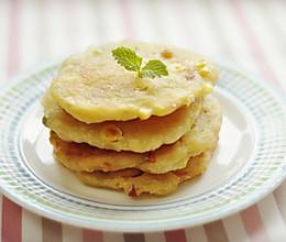 香酥田园土豆饼,温暖爱心早餐的做法