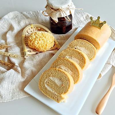 养生下午茶|银耳红糖姜母蛋糕卷