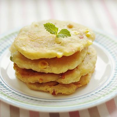 香酥田园土豆饼,温暖爱心早餐