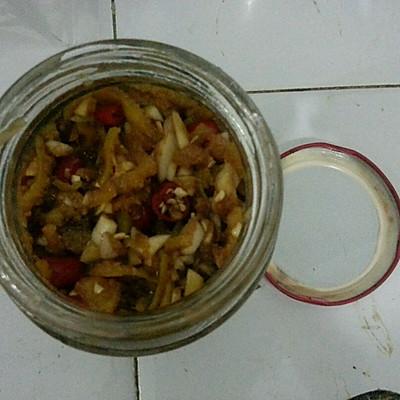 腌桔子皮-家常開胃小菜