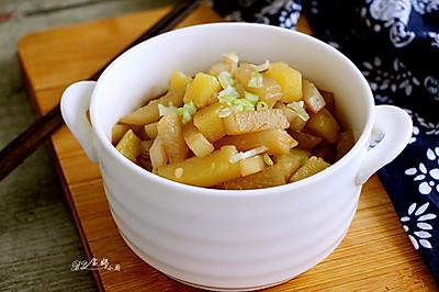 白萝卜炖土豆