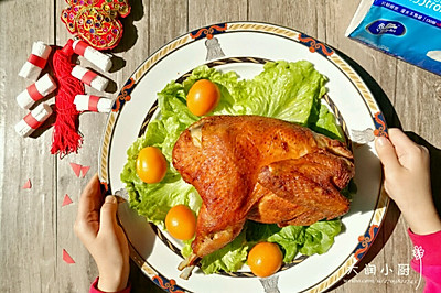 盐焗烤鸡#维达与你韧享年夜范#