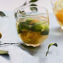 金桔柠檬茶,清爽又去燥