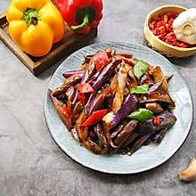 #母亲节,给妈妈做道菜#素炒茄子
