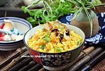 消耗隔夜剩饭的自有妙招——香菇酱黄金炒饭的做法