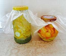 水果酒|金橘酒+柠檬酒|养老公不重样的做法