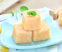 鲜虾小米糕的做法