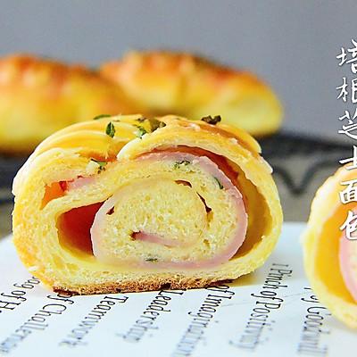 培根芝士面包—能量早餐