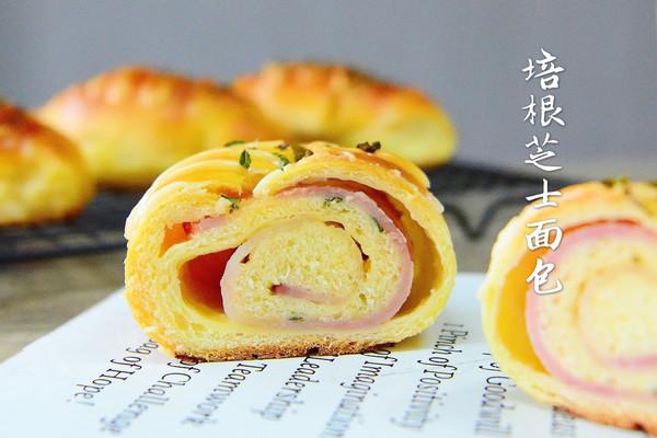 培根芝士面包—能量早餐的做法