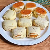 脆皮南瓜饼 | 低脂软糯,做法巨简单的做法图解6