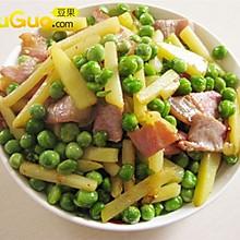 豆豆炒腊肉——豆果美食