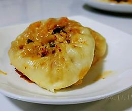葱油豆腐辣煎包的做法