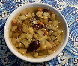 苹果雪燕汤的做法