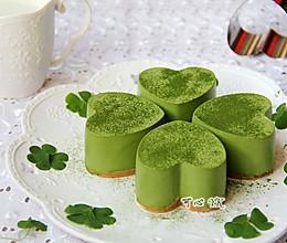 #豆果5周年#四叶草抹茶慕斯蛋糕的做法