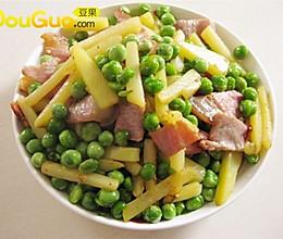 豆豆炒腊肉——豆果美食的做法