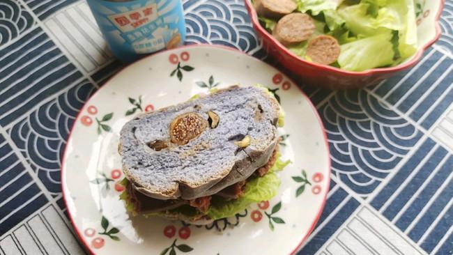 花生酱三明治#四季宝蓝小罐#的做法