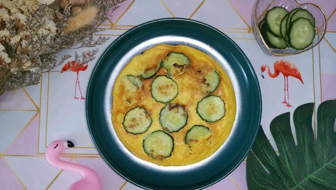 随手黄瓜蛋饼(减脂菜单)
