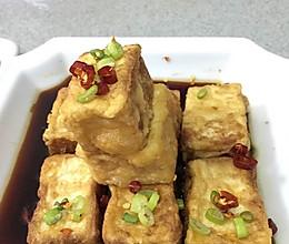 黄金脆弱豆腐的做法