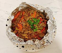 网红爆款锡纸牛肉!吃完不用洗锅洗盘的做法