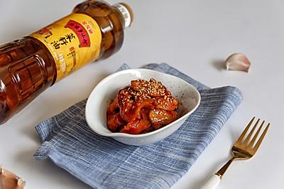 韩式风味素鸡翅#金龙鱼外婆乡小榨菜籽油 外婆的时光机#