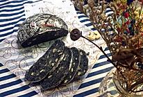 黑芝麻坚果养生欧包的做法