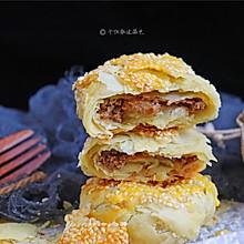 麻酱白糖酥饼