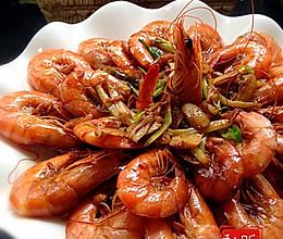 红焖海虾的做法