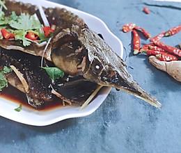 【越の厨】———鲟鱼蒸吃的做法
